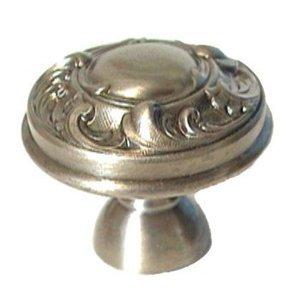 """LB Brass Fancy Knob ( 1.375"""" ) in Polished Brass"""