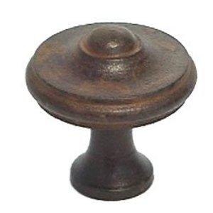 """LB Brass Cabinet Knob ( 1.375"""" ) in Satin Black"""