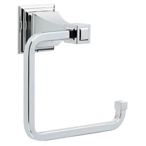 Liberty Hardware Towel Ring in Polished Chrome