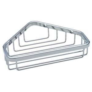 Liberty Hardware Small Corner Caddy in Bright Stainless Steel