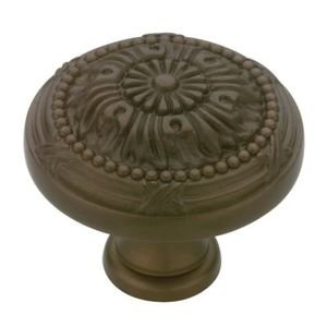 Liberty Kitchen Cabinet Hardware - 1-1/8 Round Vintage Knob in Rubbed Bronze Ii