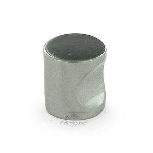 """Linnea Hardware 1"""" Diameter Thumbprint Knob in Satin Stainless Steel"""