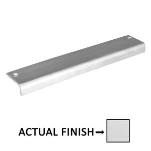 "Linnea Hardware 11.81"" Long Top Mount Edge Pull in Polished Stainless Steel"