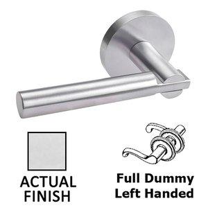 Door Levers Double Dummy Left Handed Door Lever In Polished Stainless Steel Linnea Hardware Ll63r68 Fd00lh Pss