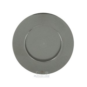 "Linnea Hardware 3 3/8"" Diameter Recessed Pull in Satin Stainless Steel"
