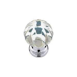 Liberty Hardware Clear Ridge Ball Knob