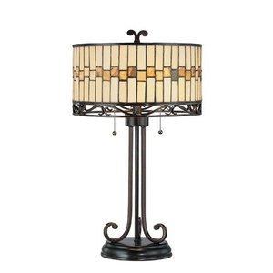 "Lite Source 26 1/2"" Tall Table Lamp in Dark Bronze"