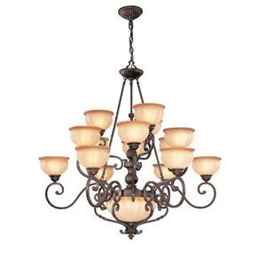 Lite Source - Maxine 94  Tall Chandelier in Antique Bronze  sc 1 st  MyKnobs.com & Traditional Chandeliers - 94