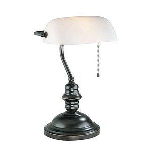"Lite Source 14 1/2"" Tall Table Lamp in Dark Bronze"