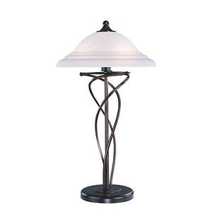 "Lite Source 28 1/2"" Tall Table Lamp in Dark Bronze"