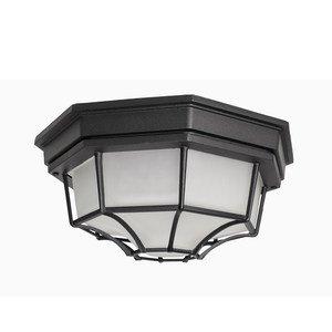 "Maxim Lighting 11 1/2"" 2-Light Outdoor Ceiling Mount in Black"