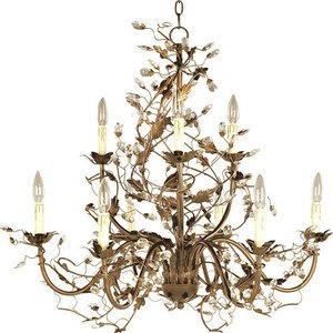 Elegante 29 9 light chandelier in etruscan gold maxim maxim lighting 29 elegante 9 light chandelier in etruscan gold mozeypictures Choice Image