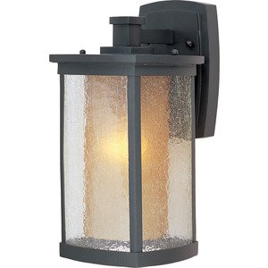 Maxim Lighting Bungalow 1-Light Wall Lantern in Bronze
