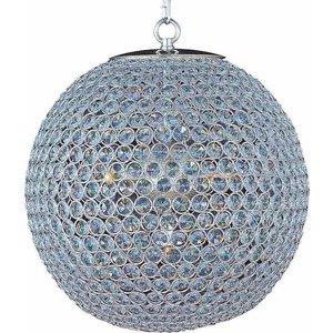 Maxim Lighting Glimmer 5-Light Chandelier in Plated Silver