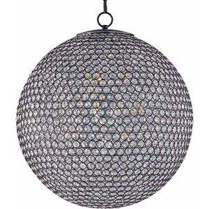 Maxim Lighting Glimmer 12-Light Chandelier in Bronze