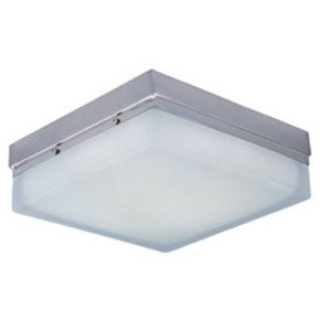 Maxim Lighting Illuminaire LED Flush Mount in Satin Nickel