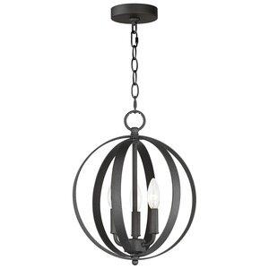 Maxim Lighting 3-Light Chandelier in Black