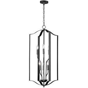 Maxim Lighting 6-Light Chandelier in Black