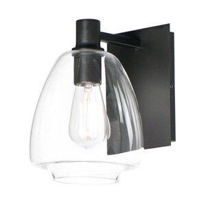Maxim Lighting 1-Light Wall Sconce in Black