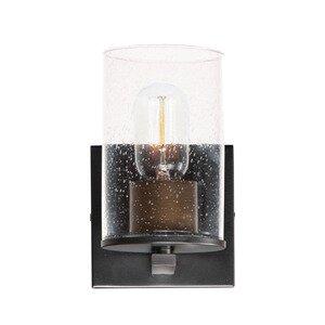 Maxim Lighting 1-Light Bath Vanity in Black
