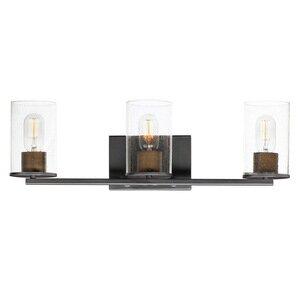 Maxim Lighting 3-Light Bath Vanity in Black