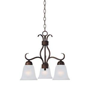 Maxim Lighting 3-Light Chandelier in Oil Rubbed Bronze