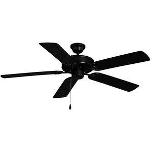 "Maxim Lighting 52"" Outdoor Ceiling Fan in Black"
