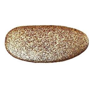 Modern Objects Stone #2 Knob in Antique Brass