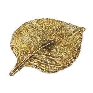 Modern Objects Hydrangea Knob in Antique Brass