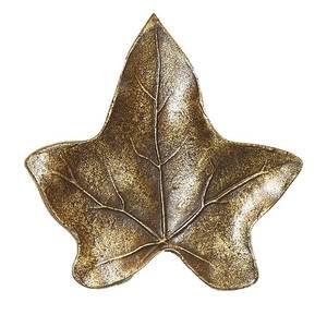 Modern Objects Ivy Leaf Knob in Antique Brass