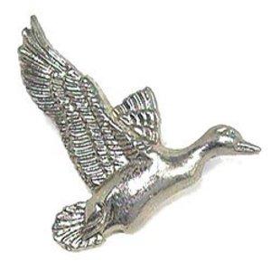 Novelty Hardware Mallard Duck Knob in Antique Brass