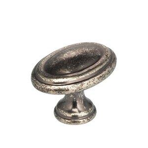 "Omnia Industries 1 3/16"" Cabinet Knob Vintage Iron"