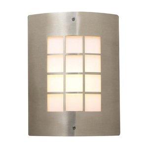 PLC Lighting Exterior Light in Satin Nickel