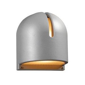 "PLC Lighting 7 1/2"" Exterior Light in Silver"