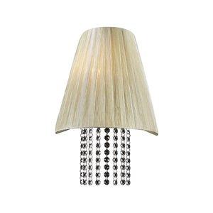 """PLC Lighting 12"""" Wall Light in Beige"""