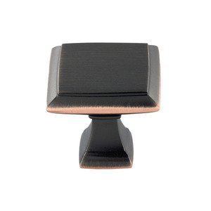 """Richelieu Hardware 1 1/2"""" Long Transitional Knob in Oil Rubbed Bronze"""