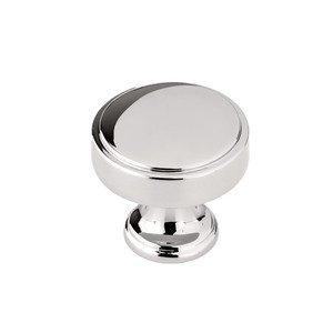 "Richelieu Hardware 1 9/16"" Round Transitional Knob in Polished Nickel"