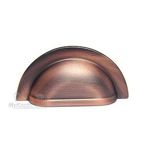 RK International Smooth Half Circle Cup Pull in Distressed Copper