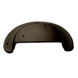 RK International Distressed Heavy Cup Pull in Oil Rubbed Bronze