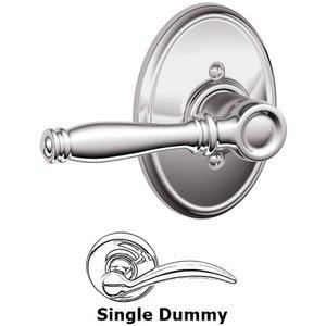 Schlage Door Hardware F170 Series - Single Dummy Birmingham Door Lever with Wakefield Rose in Bright Chrome
