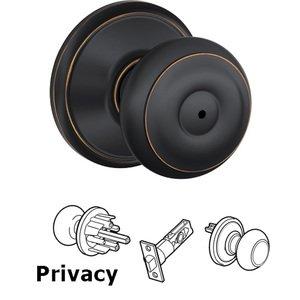 Schlage Door Hardware F40 Series   Privacy Georgian Door Knob In Aged Bronze