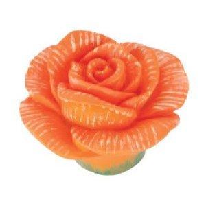 Siro Designs Orange Rose Knob