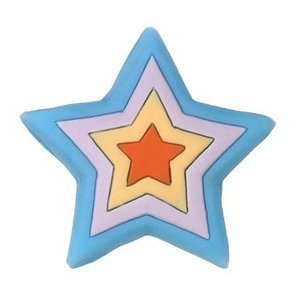 Siro Designs 44mm Rubber Flex Star Knob in Blue/Lilac/Yellow/Orange