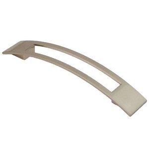"Siro Designs 5"" Centers Biscayne Handle in Fine Brushed Nickel"