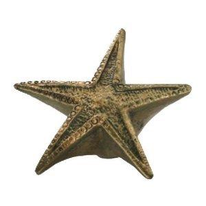 Siro Designs Starfish Knob in Antique Brass