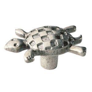 Siro Designs Turtle Knob in Antique Pewter