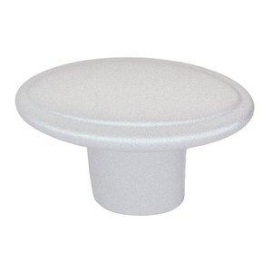 Siro Designs Oval Knob in Matte Aluminum Color
