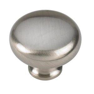 "Siro Designs Brushed Nickel 1 1/4"" Knob"