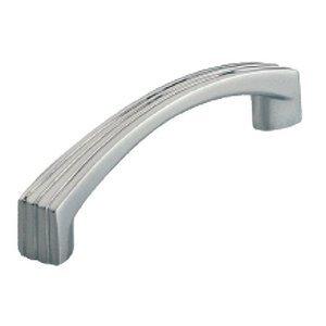 Siro Designs 96mm Stripe Pull in Bright Chrome