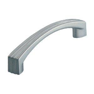 Siro Designs 96mm Stripe Pull in Matte Chrome
